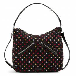 Vera Bradley Vivian Hobo Bag in Havana Dots