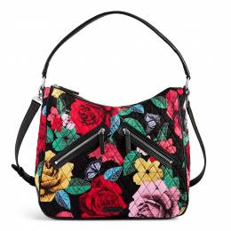 Vera Bradley Vivian Hobo Bag in Havana Rose
