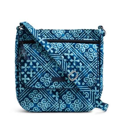 Double Zip Mailbag in Cuban Tiles