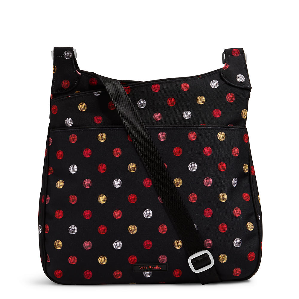 Vera Bradley Lighten Up Slim Crossbody in Havana Dots