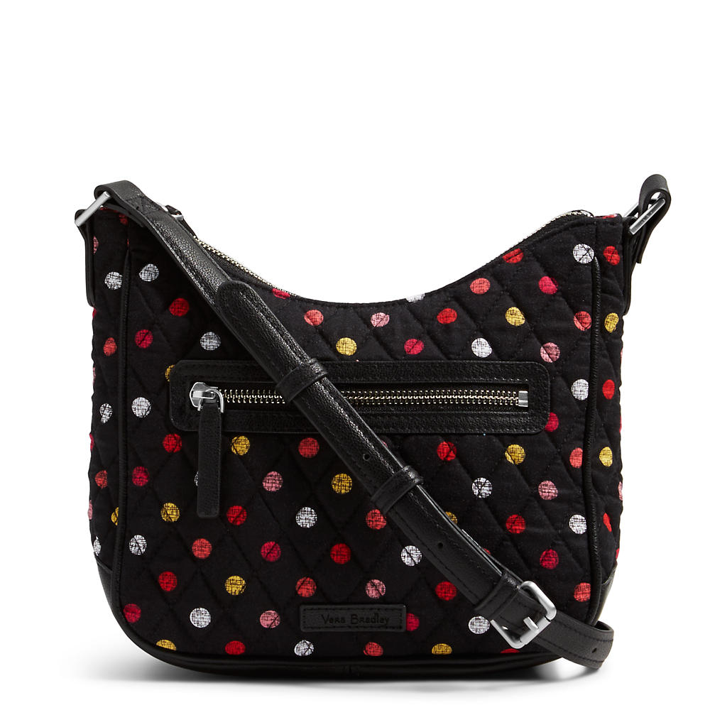 Vera Bradley Mini Vivian Crossbody in Havana Dots