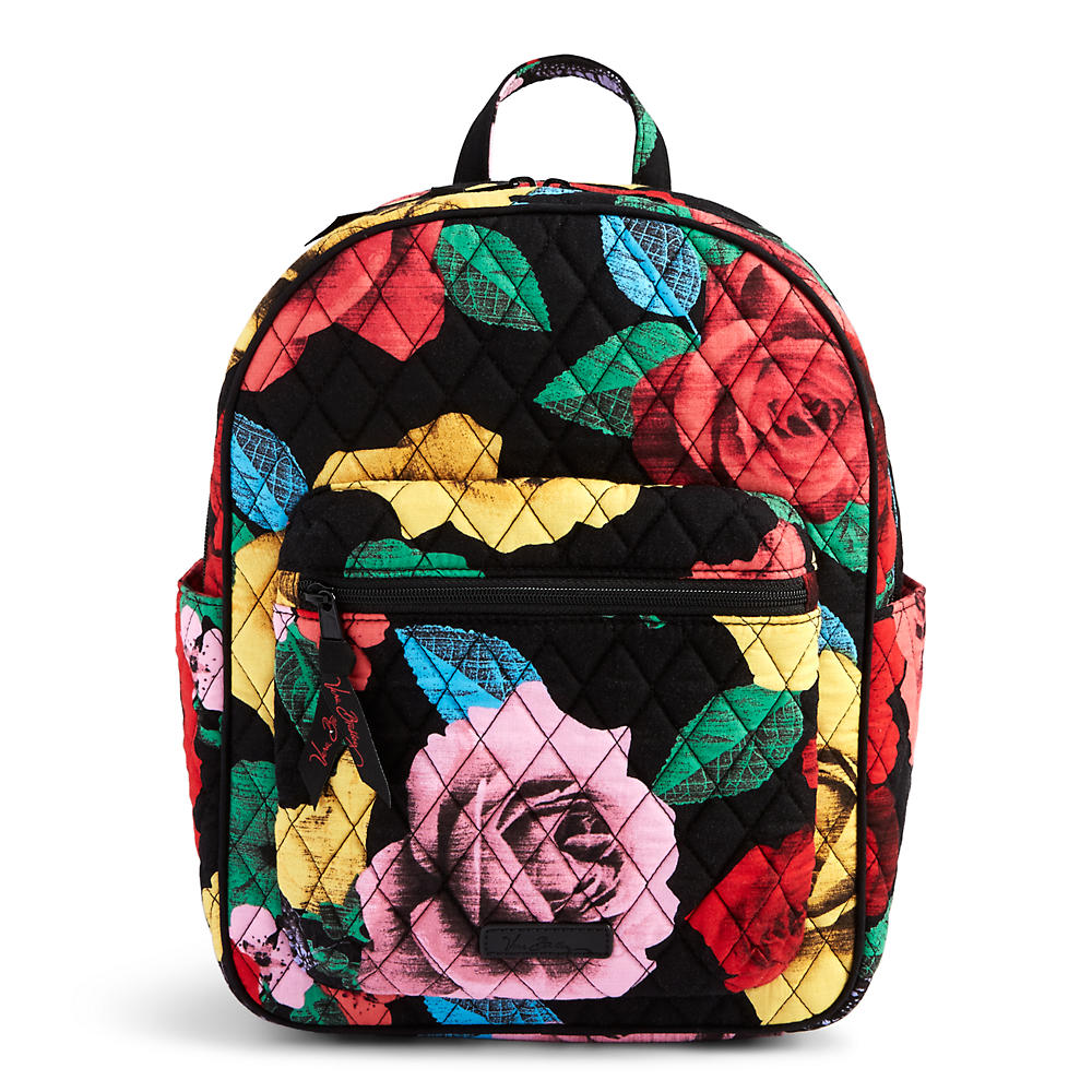 Vera Bradley Leighton Backpack in Havana Rose