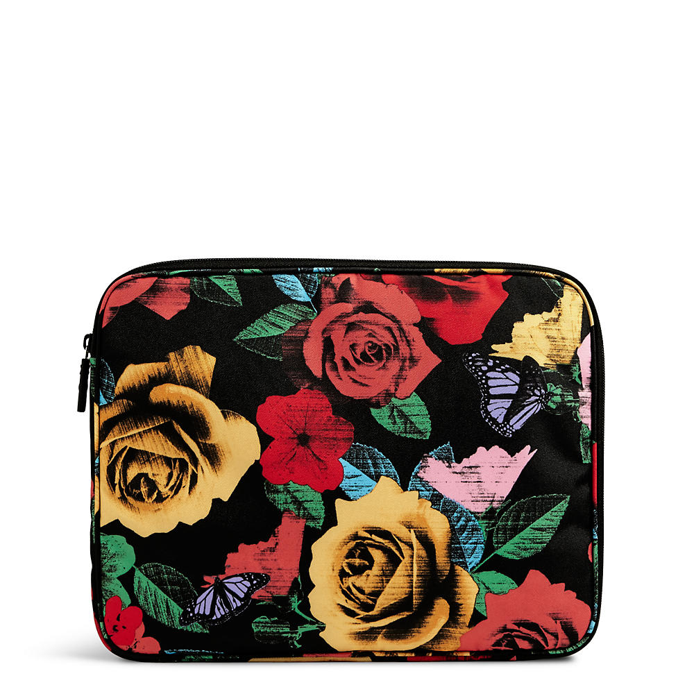 Vera Bradley Lighten Up Laptop Sleeve in Havana Rose