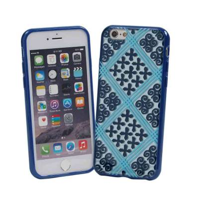 Flexible Frame Case for iPhone 6/6s in Cuban Tiles