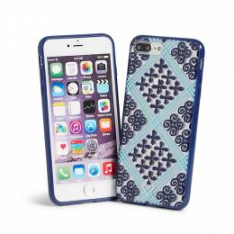 Vera Bradley Flexible Frame Case for iPhone 7+ in Cuban Tiles