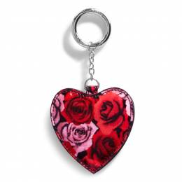 Vera Bradley Look of Love Bag Charm in Havana Hothouse