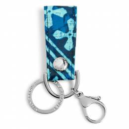 Vera Bradley Loop Keychain in Cuban Tiles