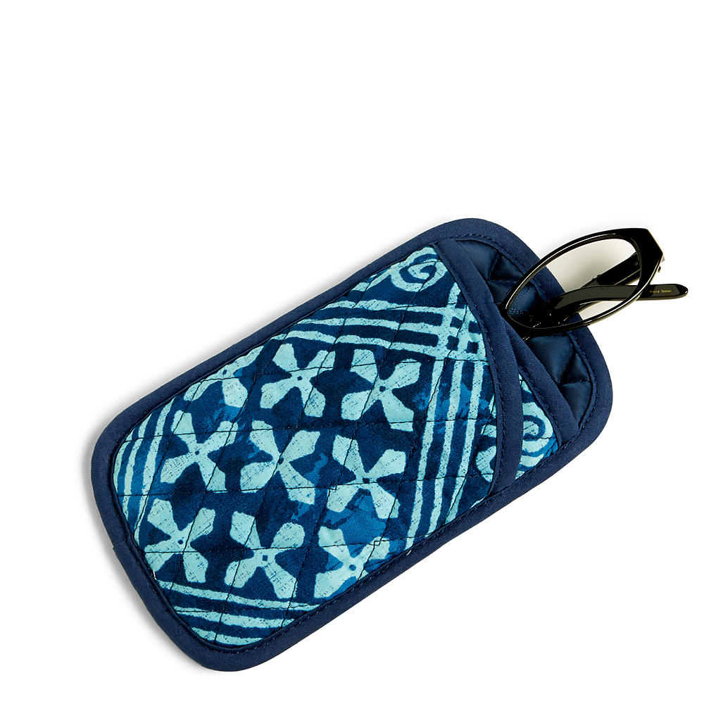 Vera Bradley Double Eye Case in Cuban Tile