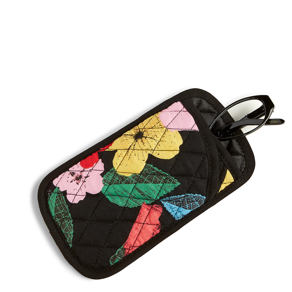 Vera Bradley Double Eye Case in Havana Rose