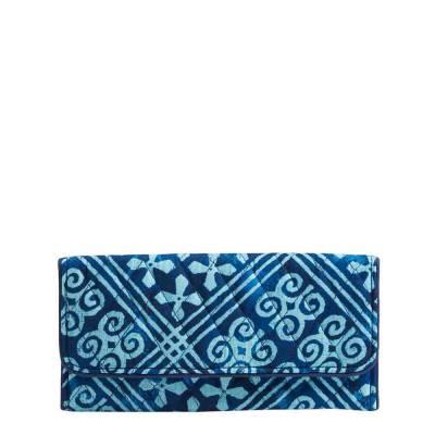 Trifold Wallet in Cuban Tiles