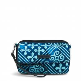 Vera Bradley RFID All in One Crossbody and Wristlet in Cuban Tiles