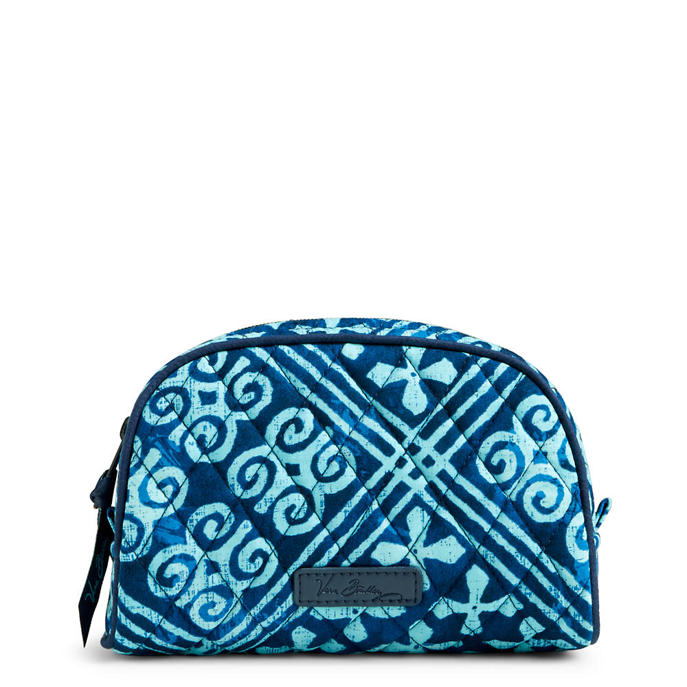 Vera Bradley Small Zip Cosmetic in Cuban Tile