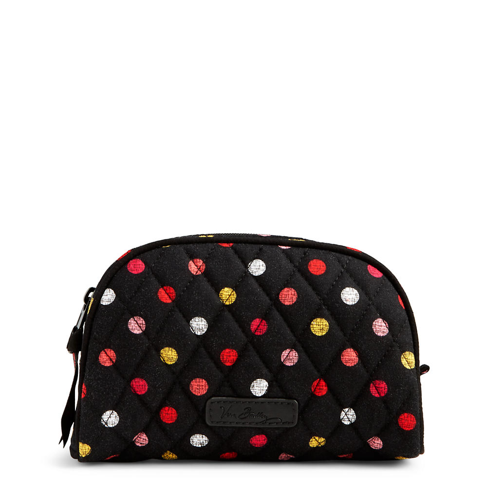 Vera Bradley Small Zip Cosmetic in Havana Dots