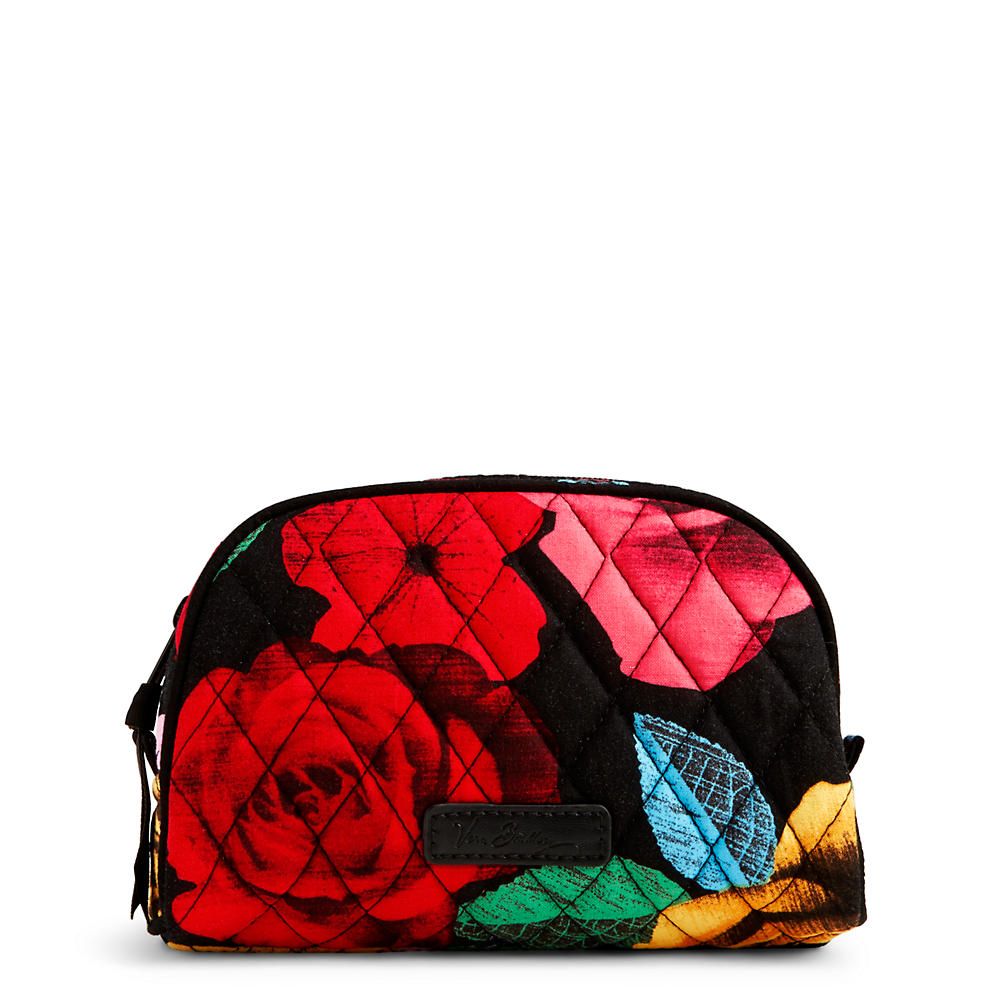 Vera Bradley Small Zip Cosmetic in Havana Rose