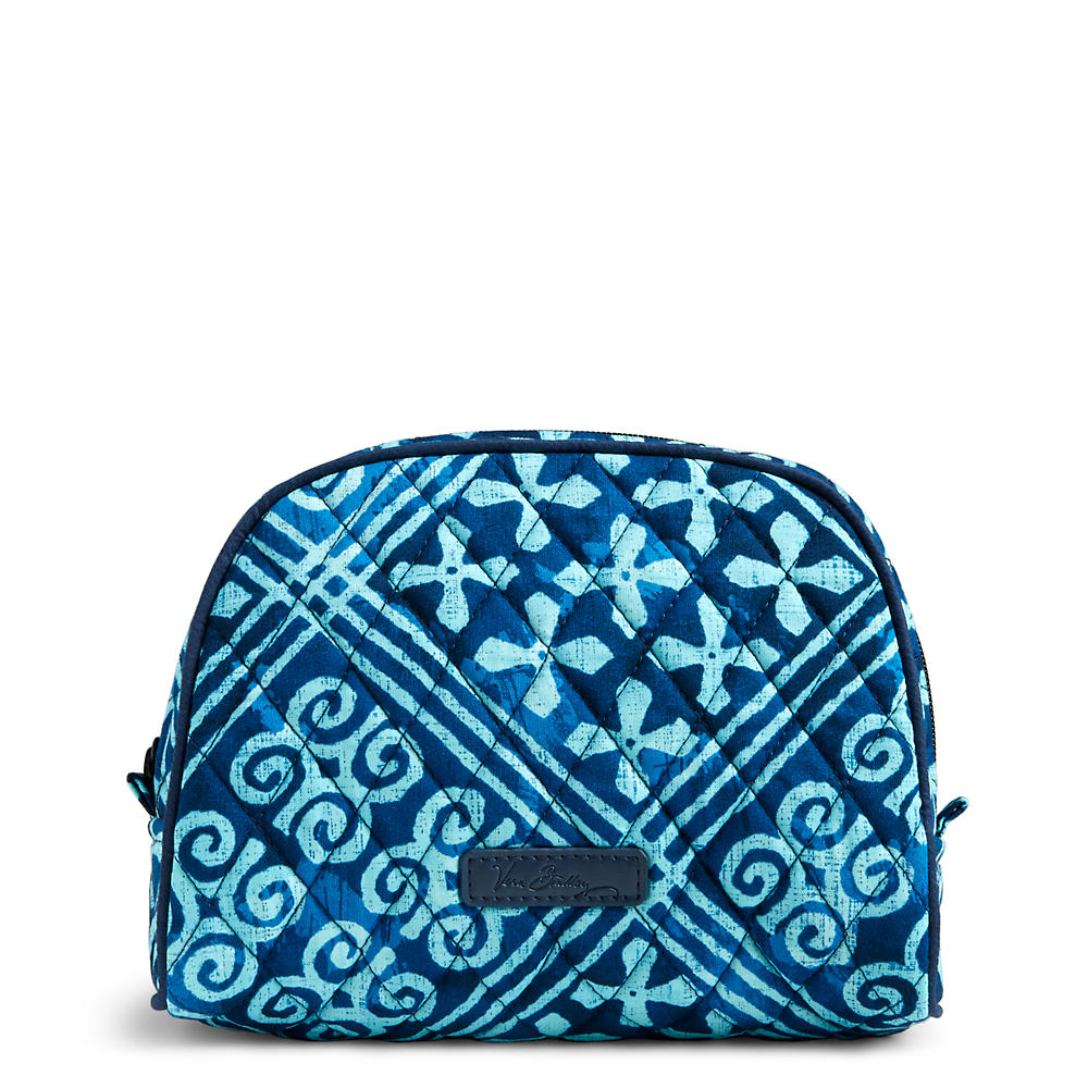 Vera Bradley Medium Zip Cosmetic in Cuban Tile