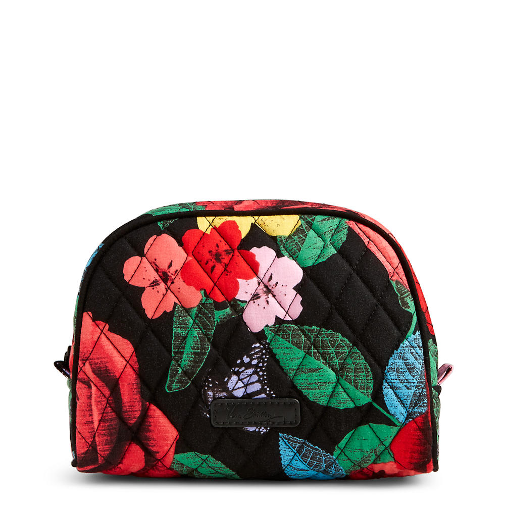 Vera Bradley Medium Zip Cosmetic in Havana Rose