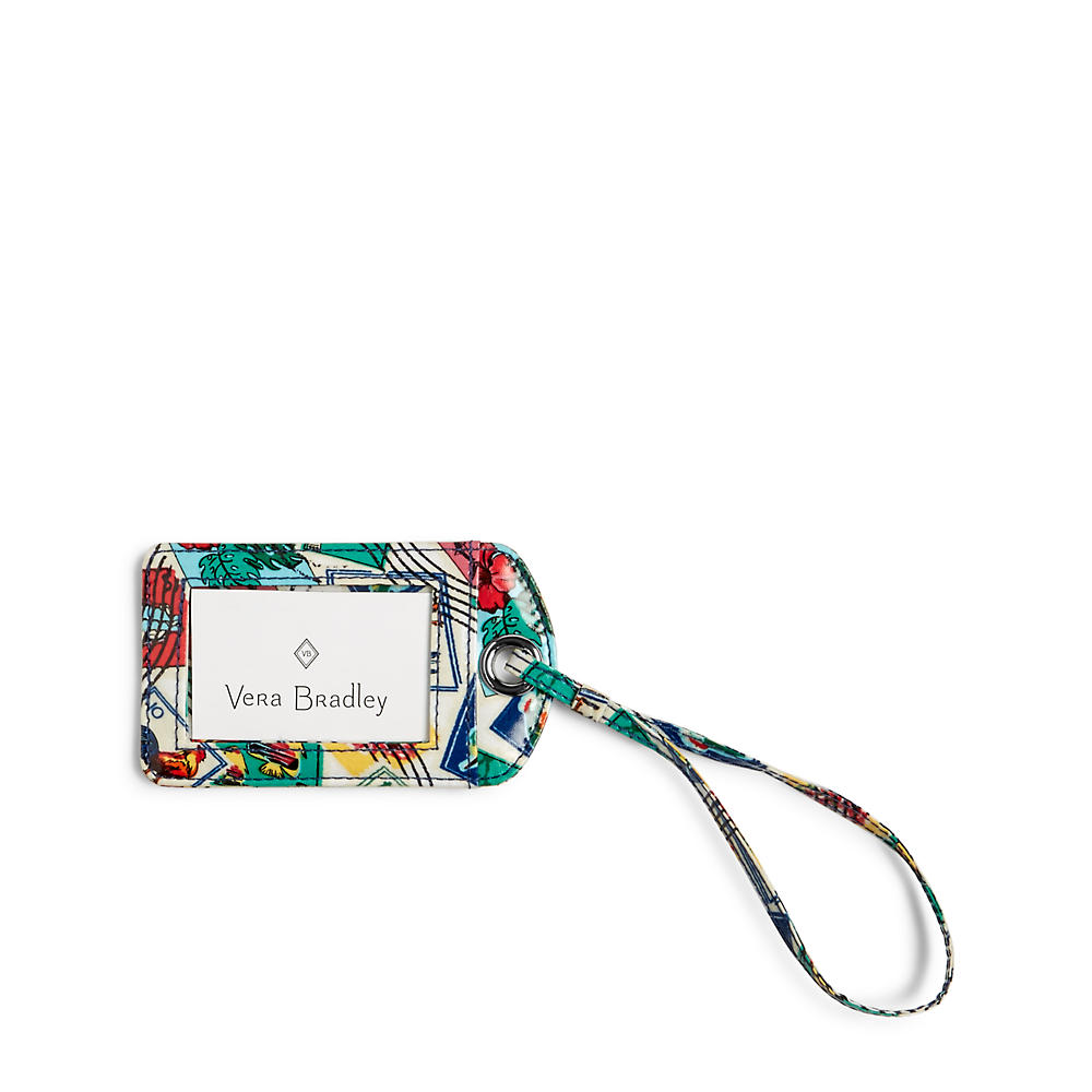 Vera Bradley Luggage Tag in Stamps