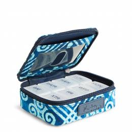 Vera Bradley Travel Pill Case in Cuban Tiles