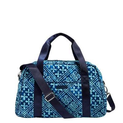 Compact Sport Bag in Cuban Tiles
