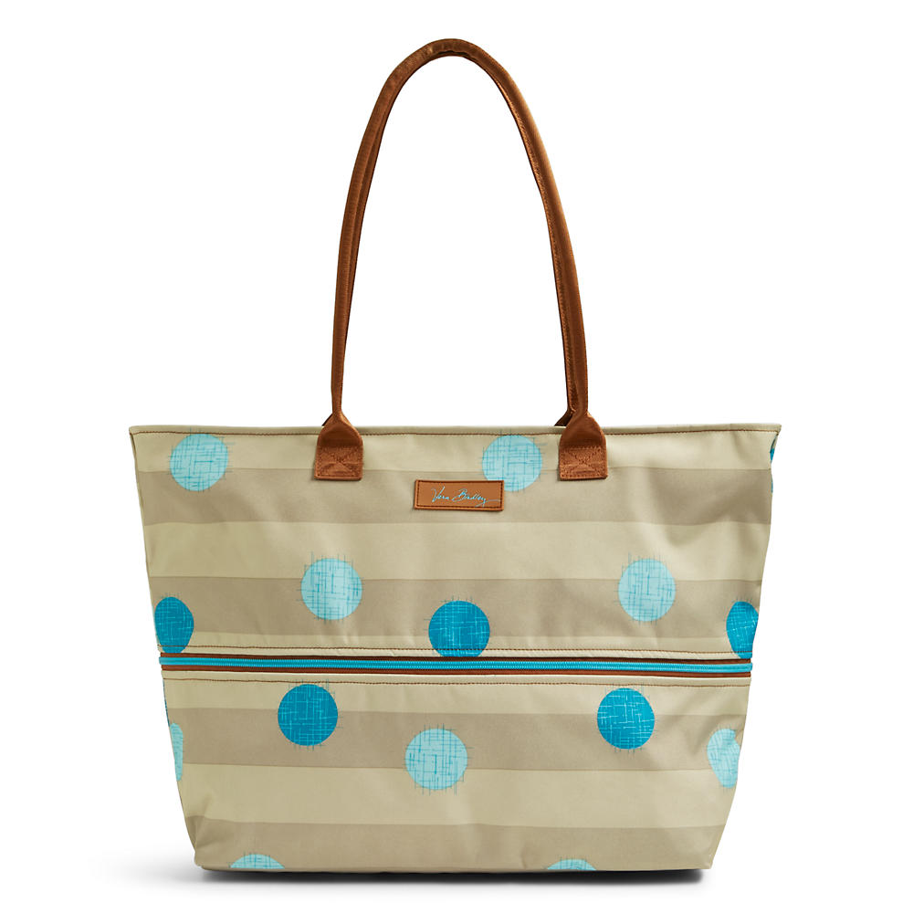 Vera Bradley Expandable Travel Tote in Havana Cool Spots