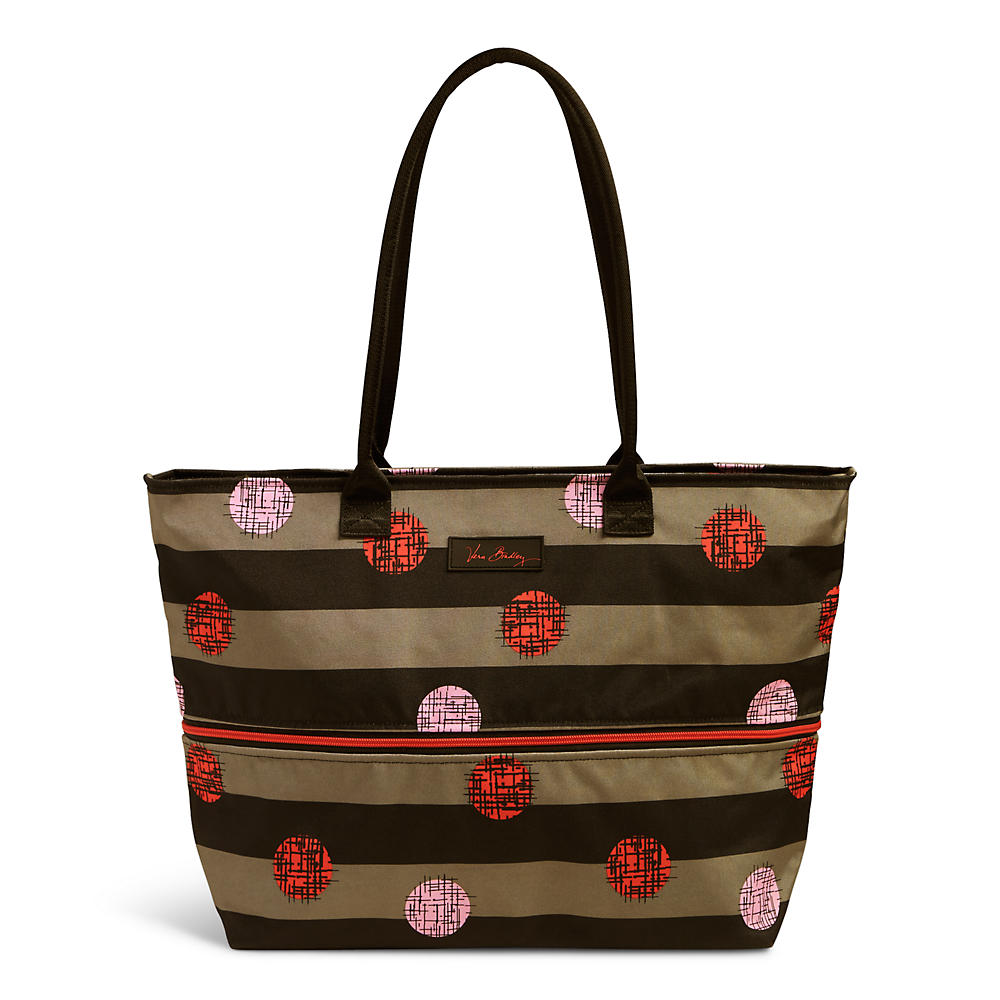 Vera Bradley Expandable Travel Tote in Havana Hot Spots