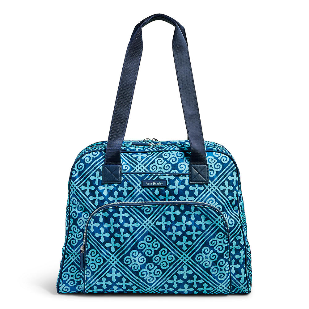 c32917fbfc Vera Bradley Lighten Up Go Anywhere Carry-On in Cuban Tile