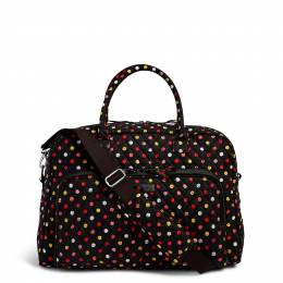 Vera Bradley Weekender Travel Bag in Havana Dots