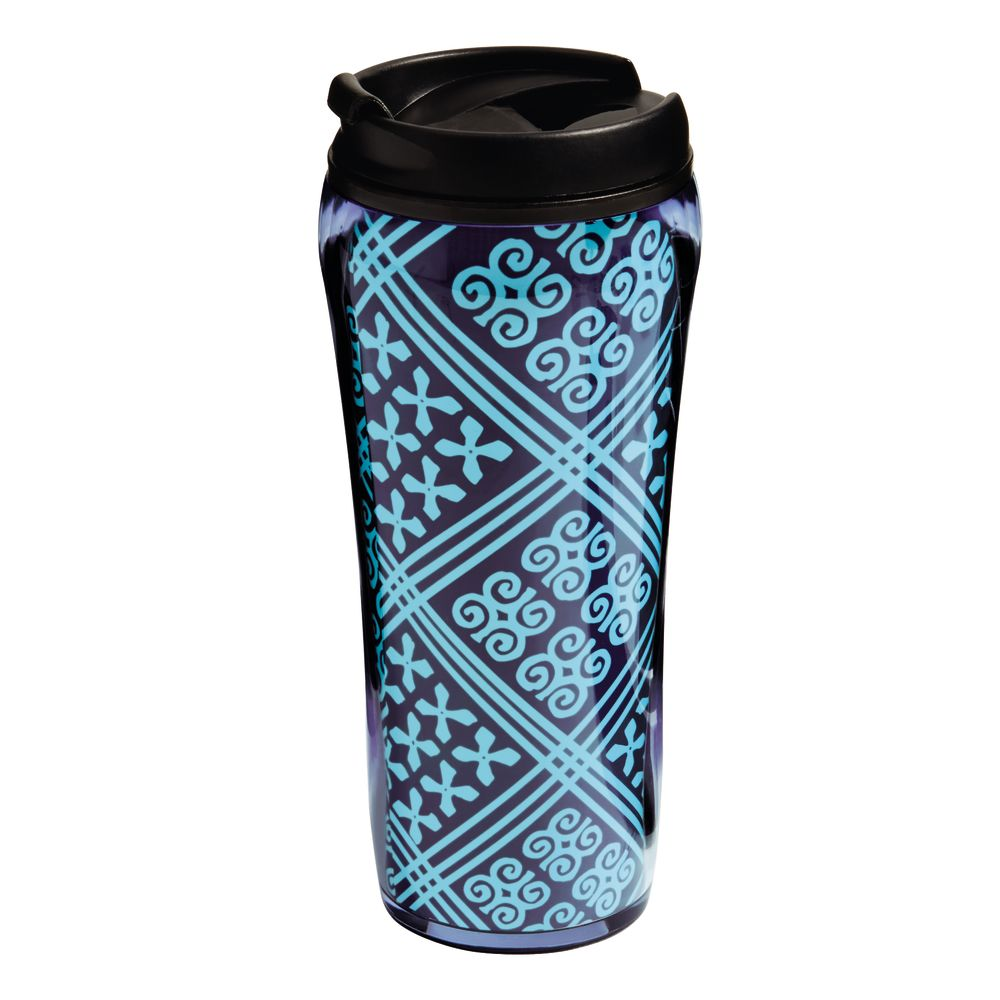 Vera Bradley Travel Mug in Cuban Tile