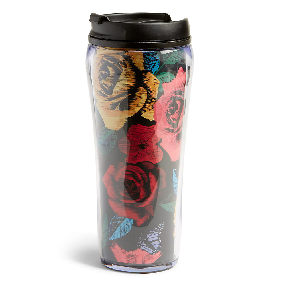 Vera Bradley Travel Mug in Havana Rose