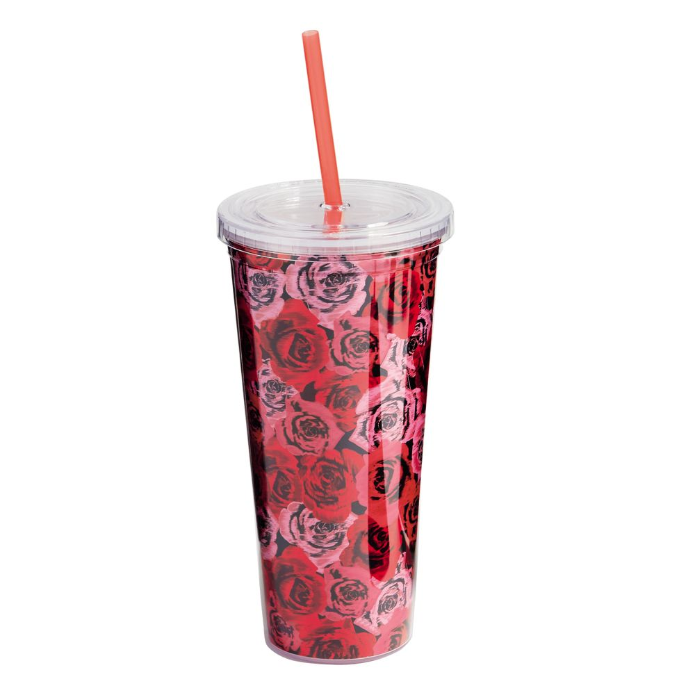 Vera Bradley Travel Tumbler in Havana Hothouse