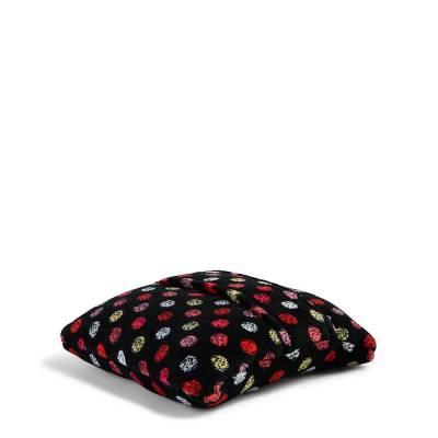 Fleece Travel Blanket in Havana Dots