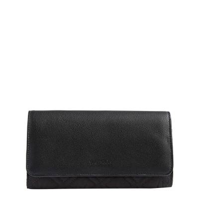RFID Audrey Wallet in Classic Black