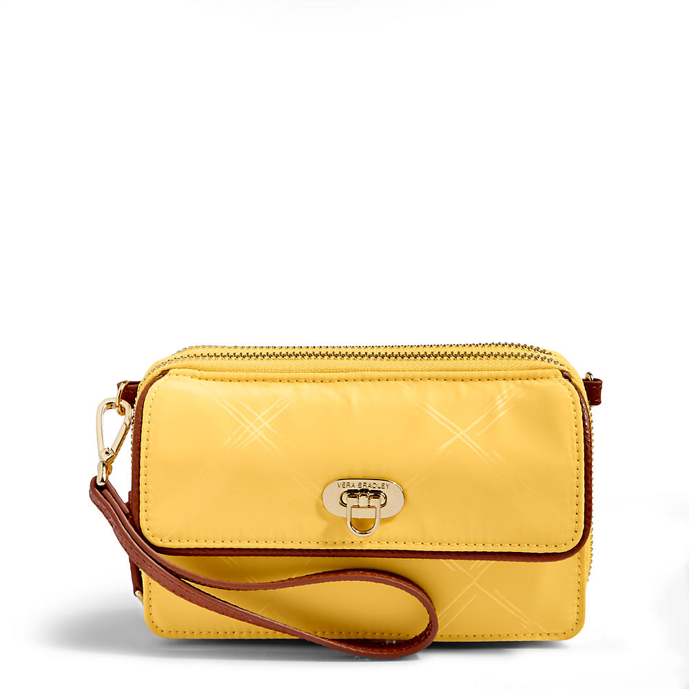 Vera Bradley RFID All in One Crossbody in Banana