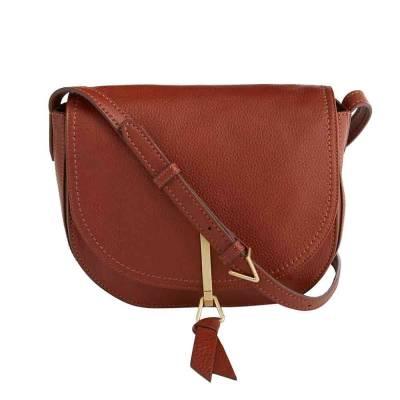 Carson Saddle Bag in Mesa Brown