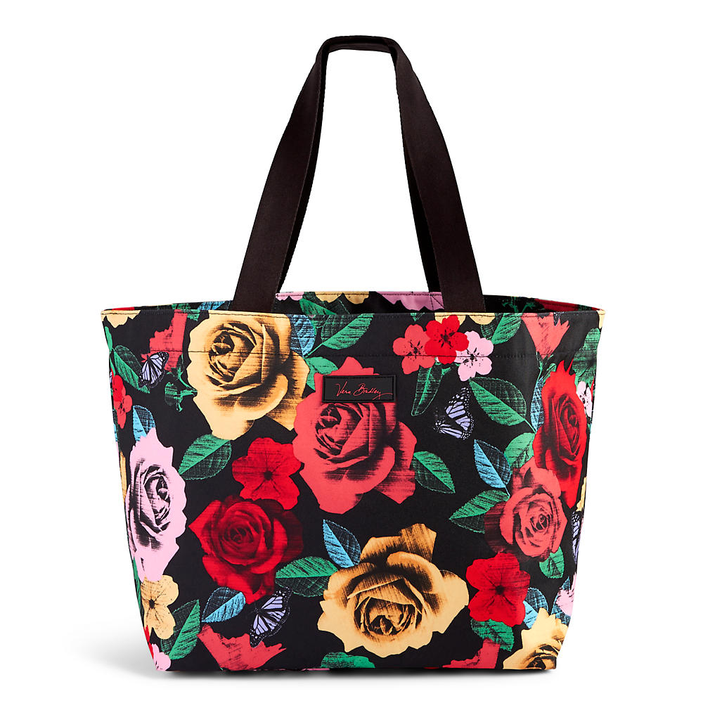 Vera Bradley Drawstring Family Tote in Havana Rose