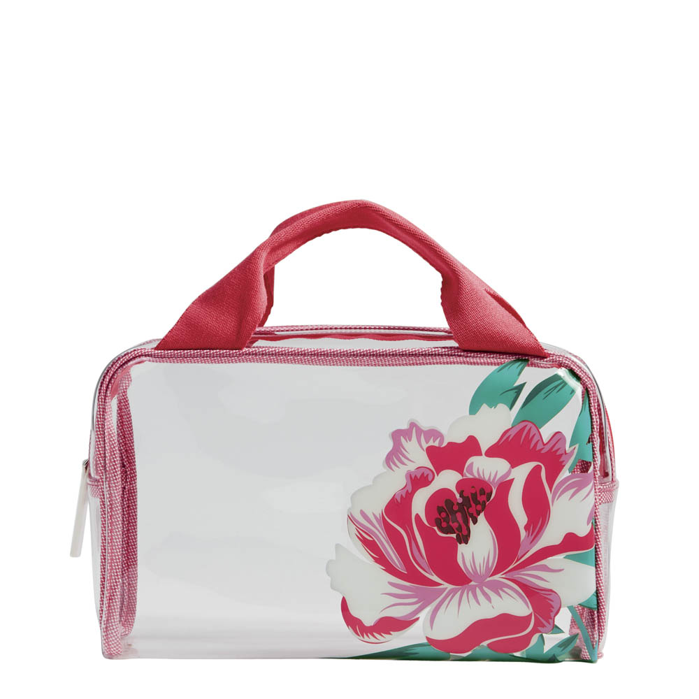 Vera Bradley Beach Cosmetic in Oxford Floral