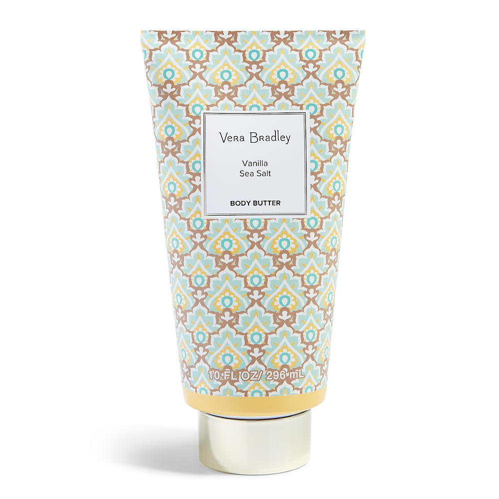 Vera Bradley Body Butter 10 oz. in Vanilla Sea Salt