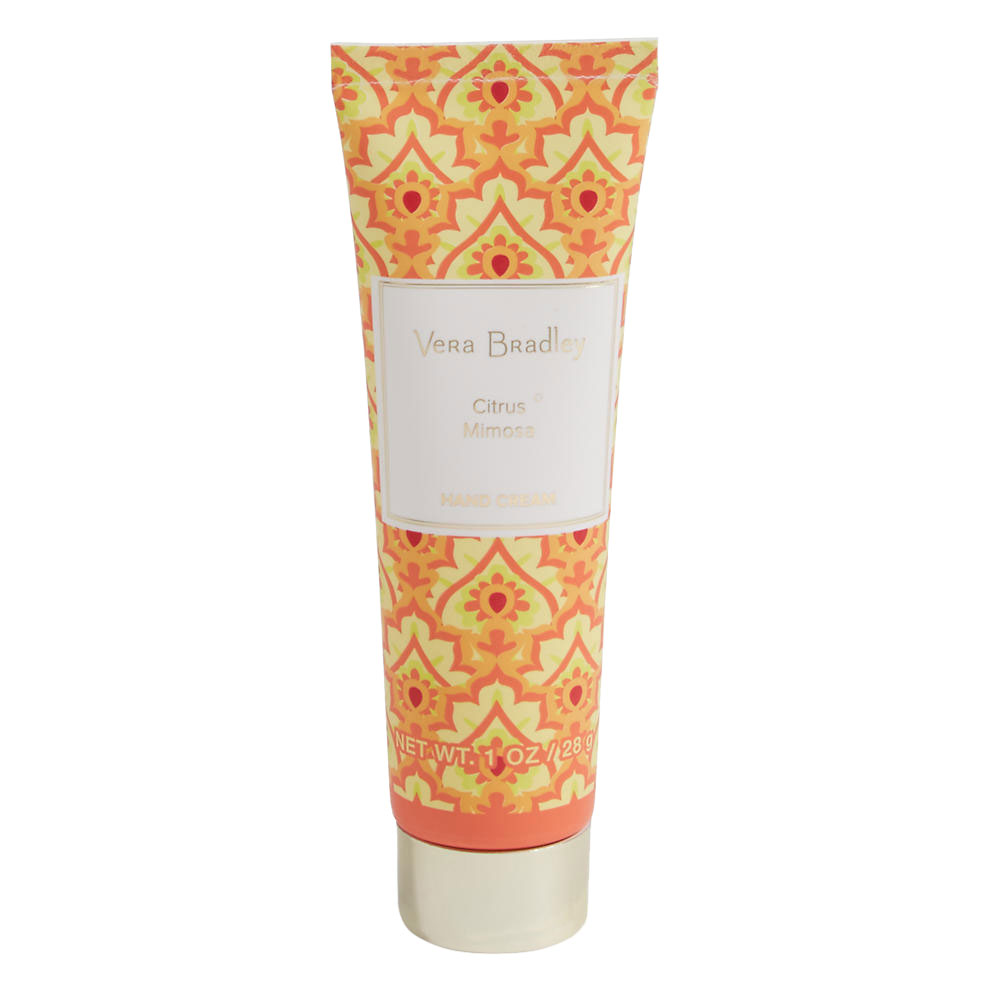 Vera Bradley Hand Cream 1 oz in Citrus Mimosa