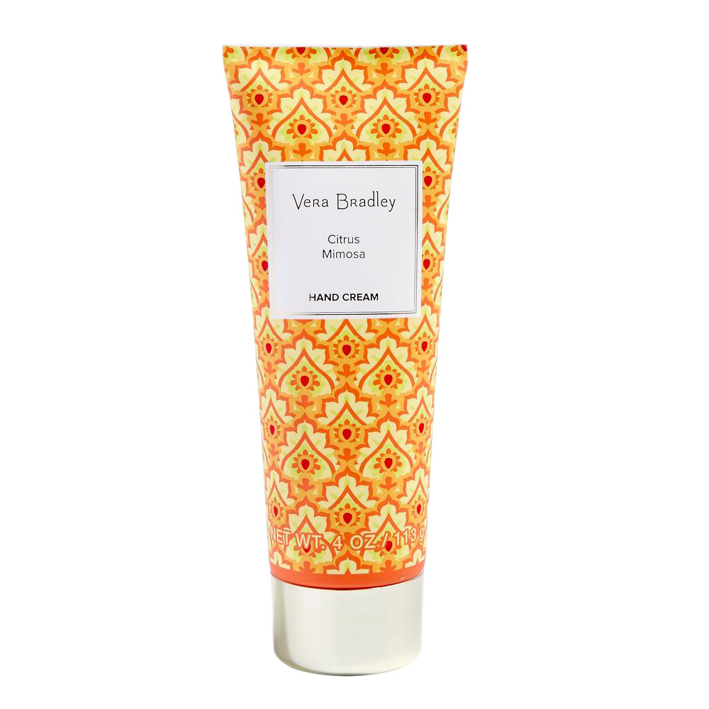 Vera Bradley Hand Cream 4 oz in Citrus Mimosa