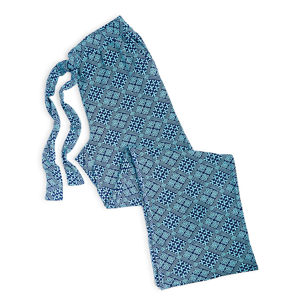 Vera Bradley Knit Pajama Pants in Cuban Tile