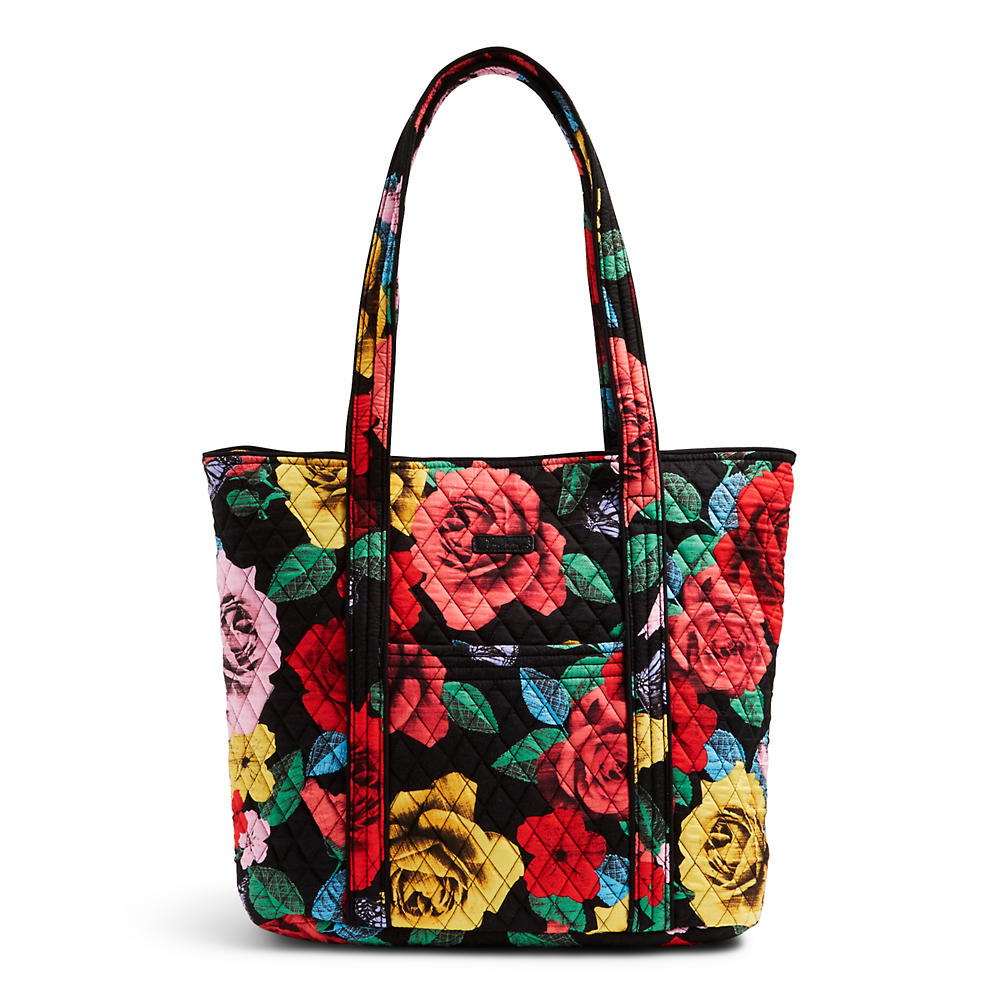 Vera Bradley Vera Tote In Havana Rose The Paper Store