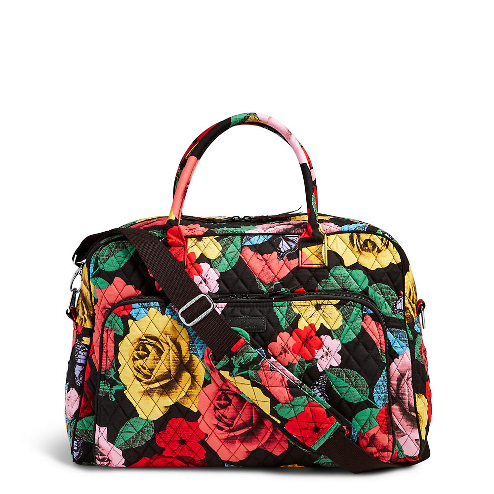 Vera Bradley Weekender Travel Bag in Havana Rose