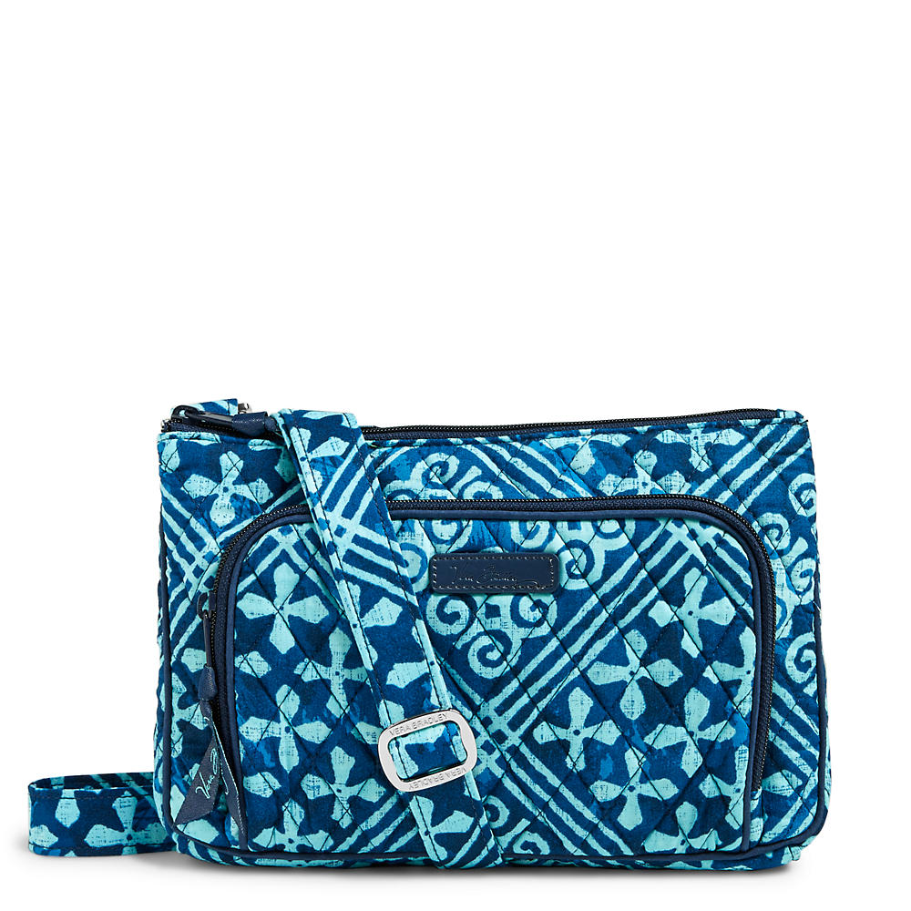Vera Bradley Little Hipster Crossbody in Cuban Tile