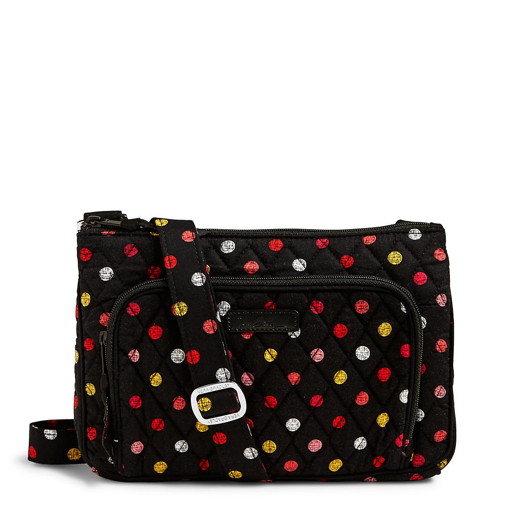 Vera Bradley Little Hipster Crossbody in Havana Dots