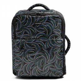 Vera Bradley Small Foldable Roller Luggage in Kiev Swirls