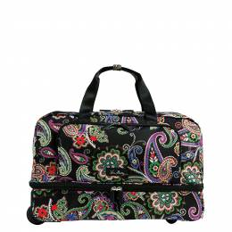 Vera Bradley Lighten Up Wheeled Carry On Luggage in Kiev Paisley