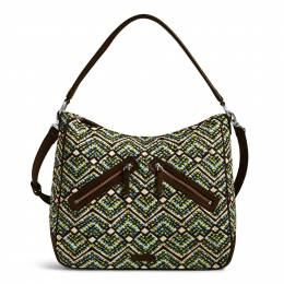 Vera Bradley Vivian Hobo Bag in Rain Forest