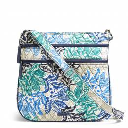 Vera Bradley Triple Zip Hipster Crossbody in Santiago