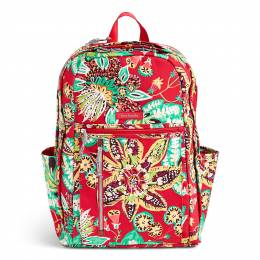 Vera Bradley Grand Backpack in Rumba