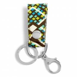 Vera Bradley Loop Keychain in Rain Forest